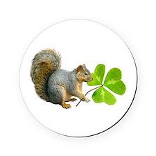 Shamrock Squirrel Cork Coaster