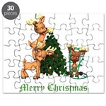 A VERY DEER CHRISTMAS Puzzle