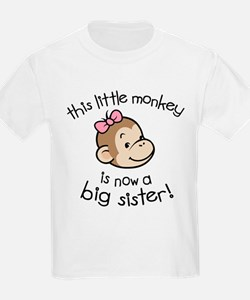 Big Sister - Monkey Face T-Shirt