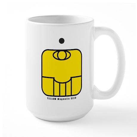YELLOW Magnetic SEED Large Mug
