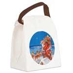 Santa Claus 60_RD.png Canvas Lunch Bag