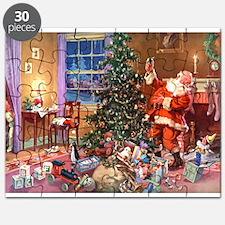 SANTA CLAUS ON CHRISTMAS EVE Puzzle