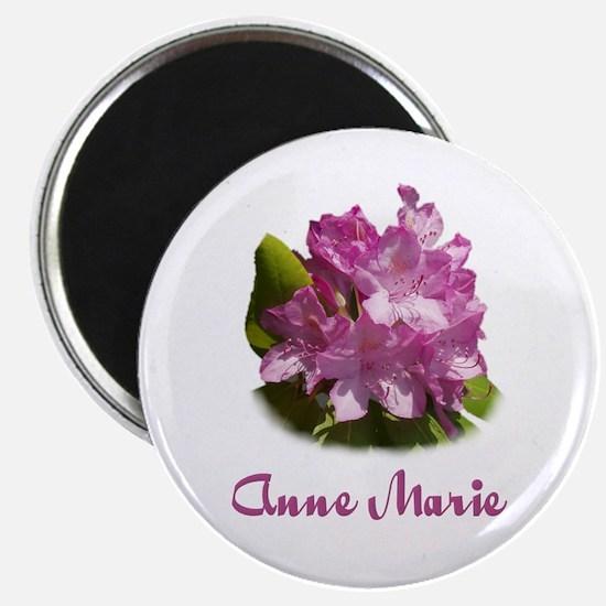 Anne Marie: Purple Flower Magnet