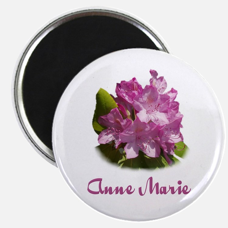 Anne Marie: Purple Flower Magnet