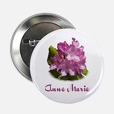 Anne Marie: Purple Flower Button