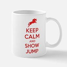 Keep calm and show jump Mug