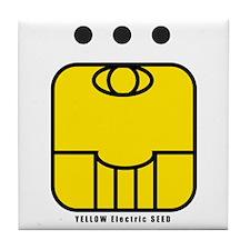 YELLOW Electric SEED Tile Coaster