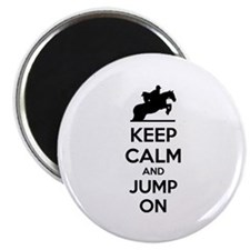 Keep calm and show jump Magnet