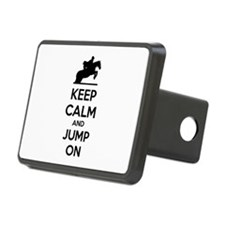 Keep calm and show jump Hitch Cover