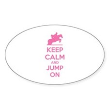 Keep calm and jump on Decal