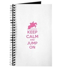 Keep calm and jump on Journal