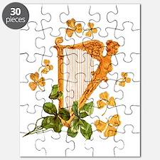 GOLDEN IRISH HARP Puzzle