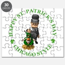 HAPPY ST PATRICKS DAY - CHICAGO STYLE Puzzle