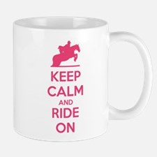 Keep calm and ride on Mug