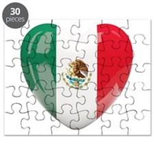 My Mexican Heart Puzzle
