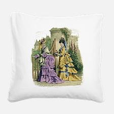 La_Mode_Illustree104x.png Square Canvas Pillow