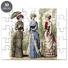 Le Monde Elegant - 1882 Puzzle