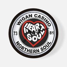 Retro wigan Casino mod northern soul Wall Clock