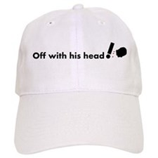 Off with his head ! Casquettes de Baseball