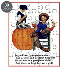 PETER PETER PUMPKIN EATER Puzzle