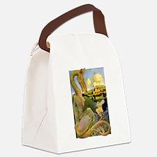 DRAGON TALES Canvas Lunch Bag