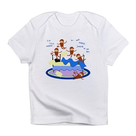 Five little Monkeys... Infant T-Shirt