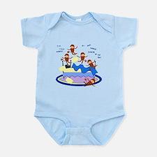 Five little Monkeys... Infant Bodysuit