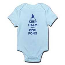 Keep calm and ping pong Infant Bodysuit