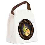 modern witch clock copy.png Canvas Lunch Bag