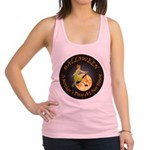modern witch clock copy.png Racerback Tank Top
