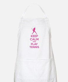 Keep calm and play tennis Apron