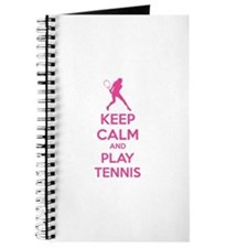 Keep calm and play tennis Journal
