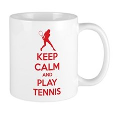 Keep calm and play tennis Mug