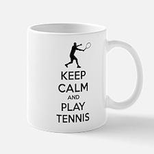Keep calm and play tennis Mug