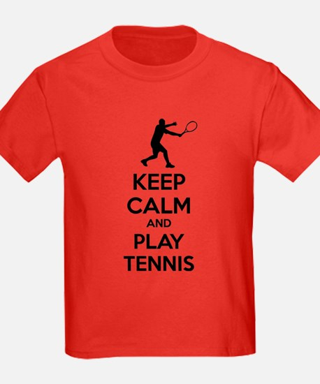 Keep calm and play tennis T