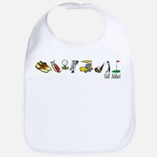 Golf Addict Bib