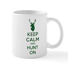 Keep calm and hunt on Mug