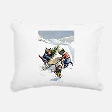 cat 1_FINAL.png Rectangular Canvas Pillow