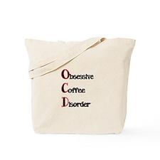 OCD-Obsessive Coffee Disorder Tote Bag