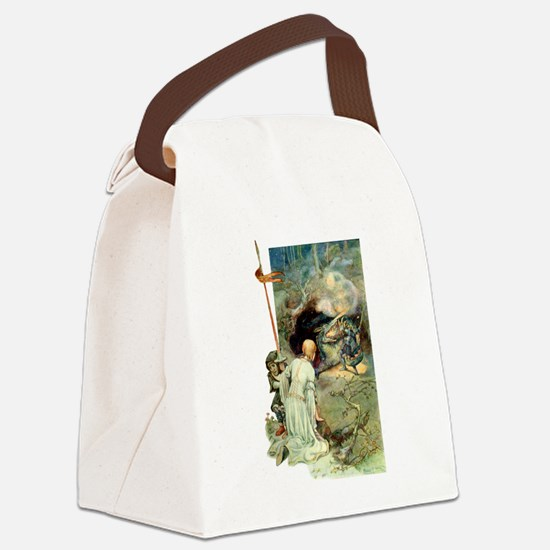 spencer002x.png Canvas Lunch Bag