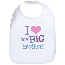 Love My Big Brother Bib