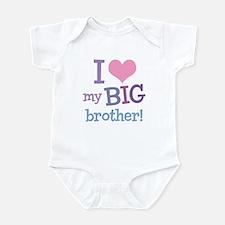 Love My Big Brother Infant Bodysuit