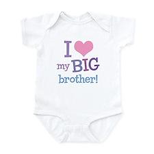 Love My Big Brother Onesie