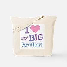 Love My Big Brother Tote Bag