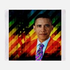 Post Urban Obama Throw Blanket