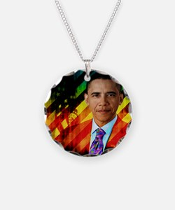 Post Urban Obama Necklace