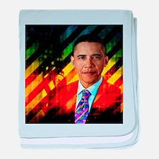 Post Urban Obama baby blanket
