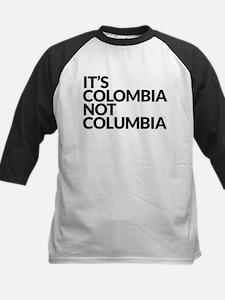 IT'S COLOMBIA NOT COLUMBIA Kids Baseball Jersey