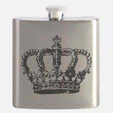 Black Crown Flask