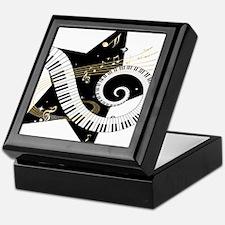 Musical star Keepsake Box